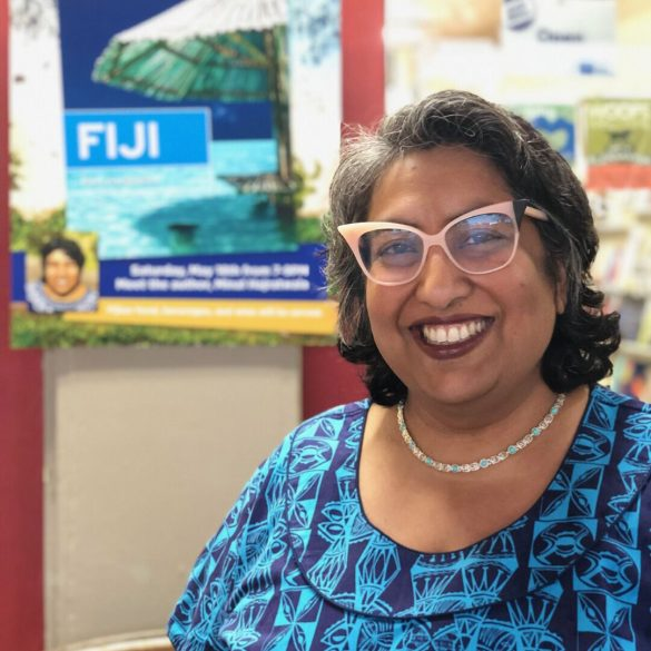 Travel writer Minal Hajratwala who writes for Moon Travel Guides, and is author of Leaving India: My Family's Journey from Five Villages to Five Continents