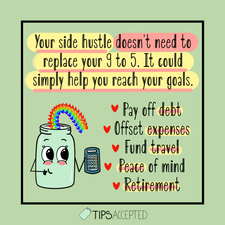 Benefits of a side hustle